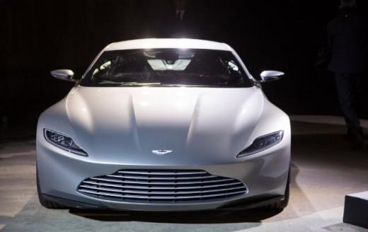 The new Bond car.