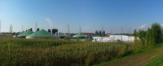 Biogas Plant can be very large or just a single family use