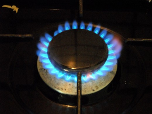A family can use biogas for cooking