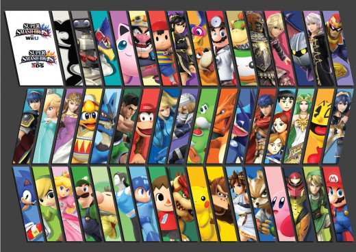 """Super Smash Bros."" Character Selection"