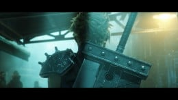 Cloud, as seen in the trailer for the Final Fantasy VII remake.