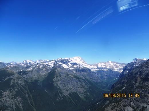 13:49.1: WALTON MOUNTAIN and MT. JACKSON ON RIGHT