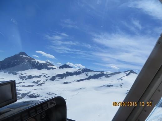 13:53.1: F2 - FLYING OVER JACKSON GLACIER