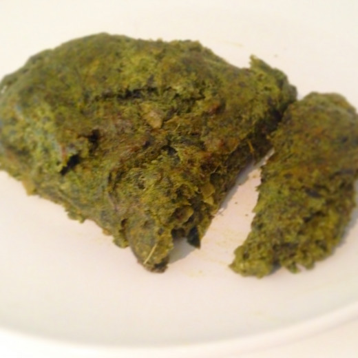 Vegetable Loaf using Wild Vegetables