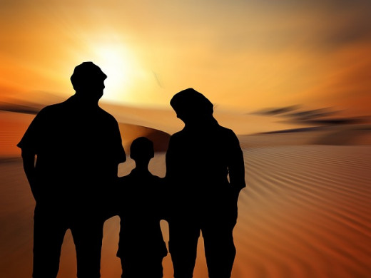 Divorce is like a funeral for a child because the life they knew no longer exists