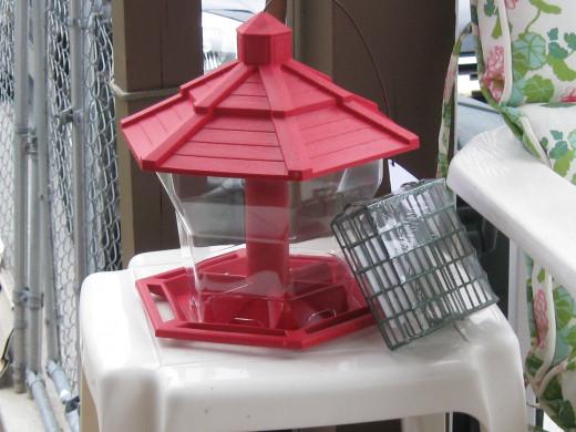 retired bird feeder