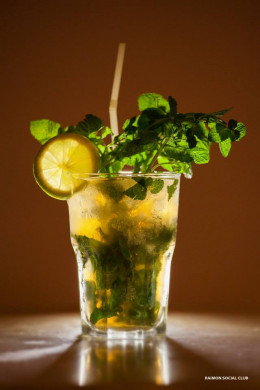 Mojito is the classic summer drink featuring rum, sugar, lime and most importantly mint!