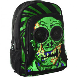 Boys' frightening backpack.