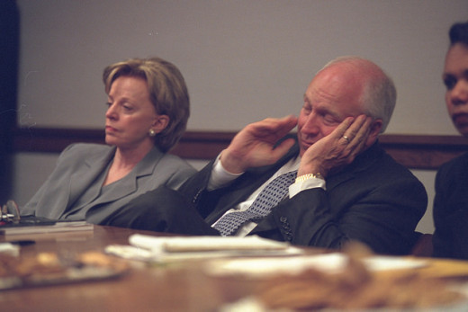 Dick Cheney seen here with his wife, Lynne Cheney.
