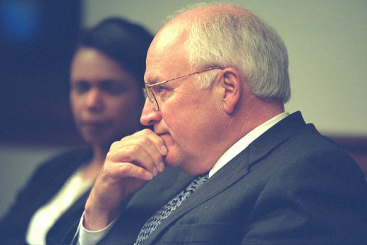 Planning the next move: Cheney, and how to respond to the devastation of the events of the day.