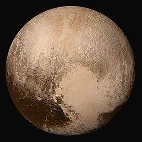 The New Image of Pluto. taken by the New Horizons space probe a few days ago