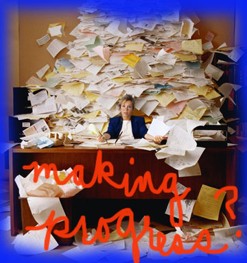 When you are buried in paperwork do you find your life stressful?