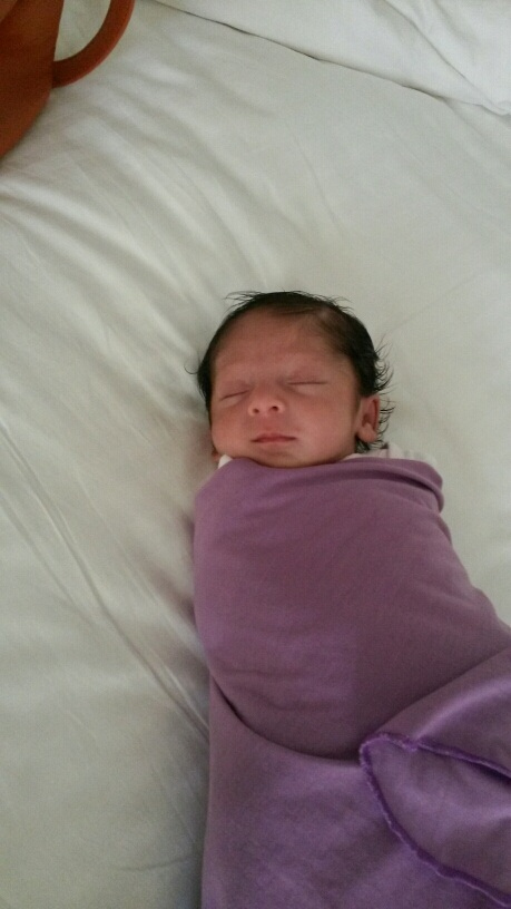 Yojna when she was 1 month old.
