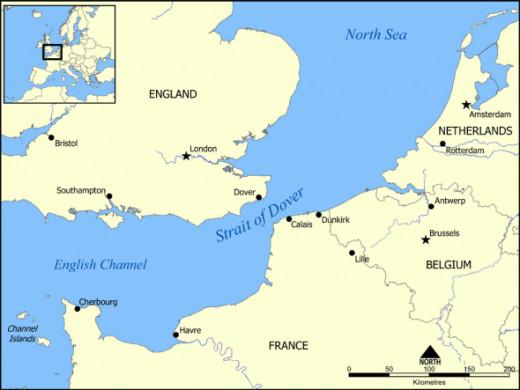 Calais to Dover