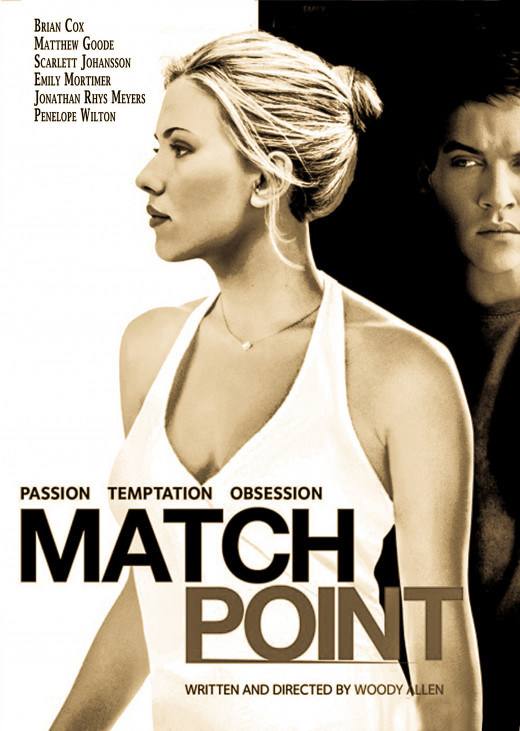 This film borrows heavily (especially in the last act) from Allen's decade-old but very impressive drama in theme and even directorial choice. One of the only key differences is Match Point was shot and takes place in Paris, France. ScarJo!