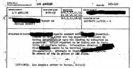 FBI document from 1945