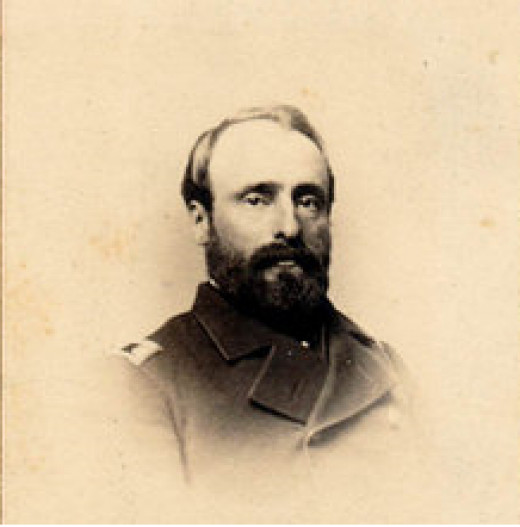 Dr. Andrew J. Ward. 2nd Wisconsin Volunteers.