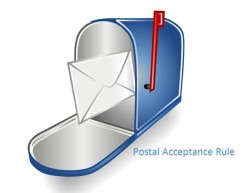The Postal Acceptance Rule