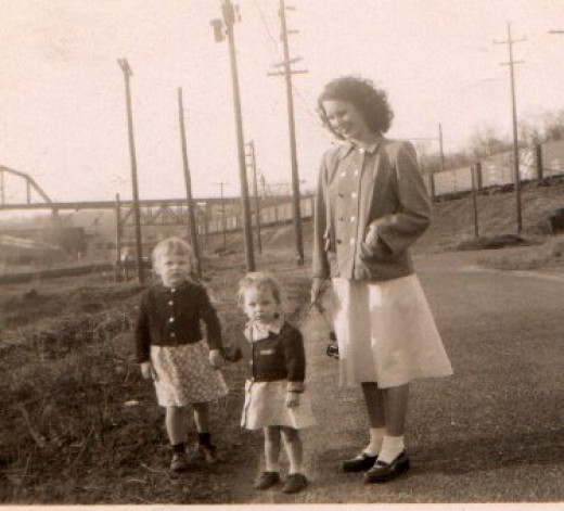 This picture was taken in the early forties.