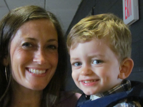 Mrs. Vashon and her son Jack, enjoyed this event as well.