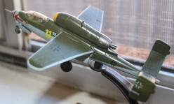 A model of a less than successful World War Two German fighter.