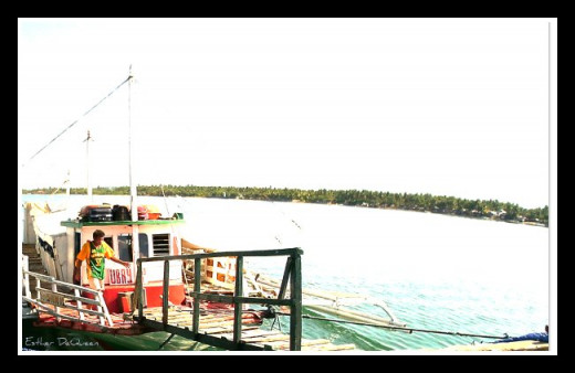 Banca in Bato, Leyte going to Ubay, Bohol.