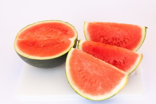 A slice of watermelon is always great on a hot summer day, but remember to wash it before cutting it