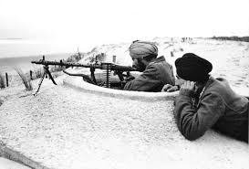 Indians manning the Atlantic Wall