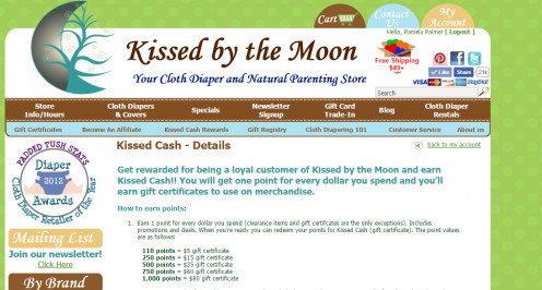 Kissed by the Moon Kissed Cash