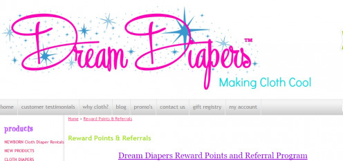 Dream Diapers Rewards
