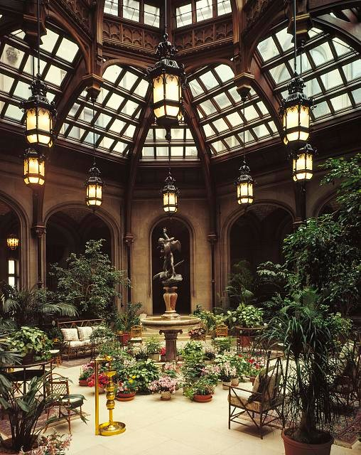 Conservatory At Biltmore Mansion
