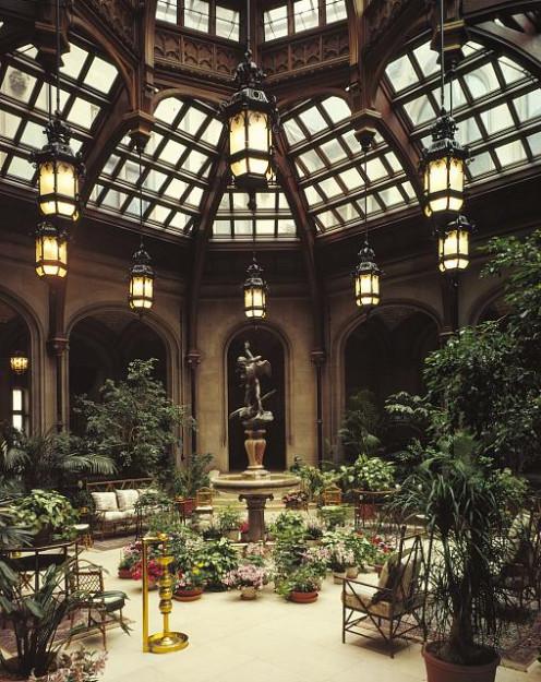 Conservatory At Biltmore Mansion