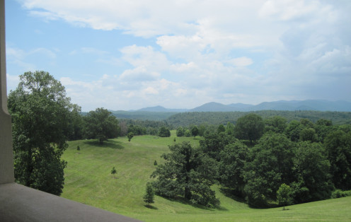 View Of Open Area At Biltmore Estate