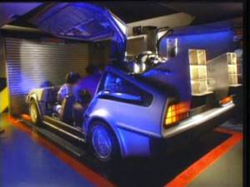 The Back to the Future ride is virtual reality at its best because the action seems so real.