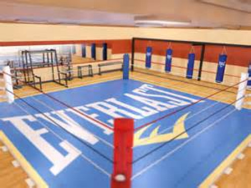 Inside the ropes is where the business of boxing takes place.