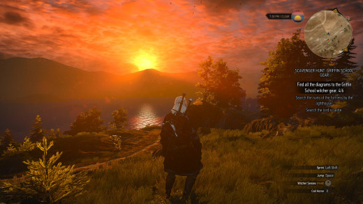 The details and breathtaking, as are ridiculous sunsets.
