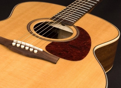 The Seagull Maritime SWS is a beautiful acoustic guitar, and a great choice for intermediate players.