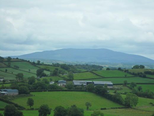 Rolling hills of County Monaghan