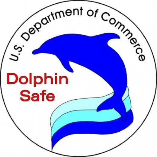 "Buy products that are ""dolphin safe"""