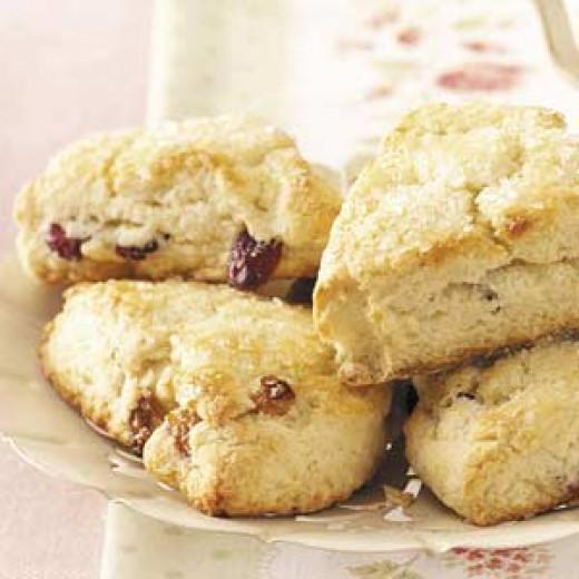 cranberry walnut scone
