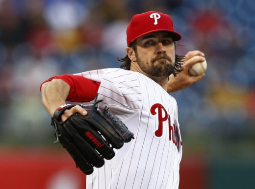 Soon to be ex-Philadelphia Phillie Cole Hamels