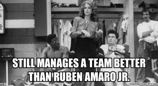 Anybody could manage a team better than Ruben Amaro