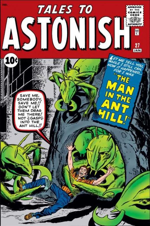 Tales to Astonish # 27