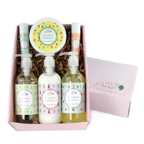 Organic skin care: 100 percent pure