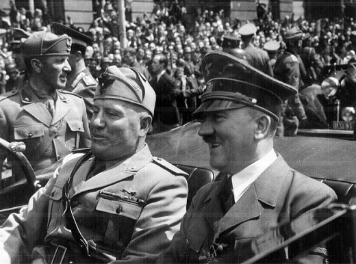 Hitler (right) won by POPULAR vote. We all know how well THAT went!
