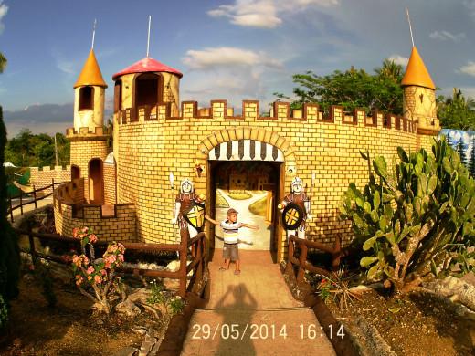 Castle in Sagbayan Peak Kid's Town