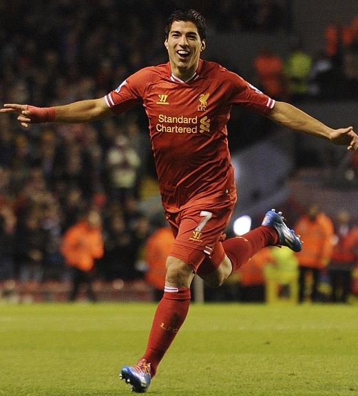 Luis Suarez had a remarkable 2013/14 season with Liverpool