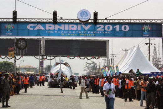 Carniriv carnival entrance point