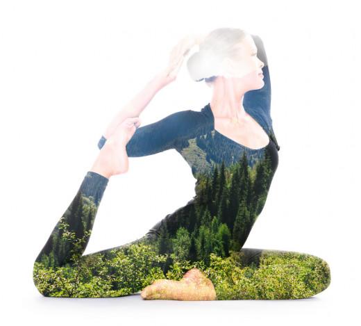 photo credit: Yoga, double exposure via photopin (license)