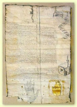 Patent of Muhammad to the Monastery of Mt. Sinai.